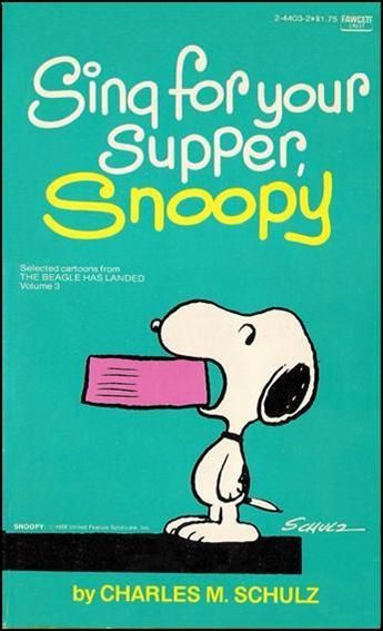 Snoopy clipart singing 103 and this Clip Clip