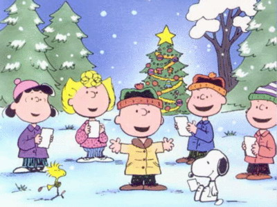 Snoopy clipart singing Christmas Clip Christmas Images and