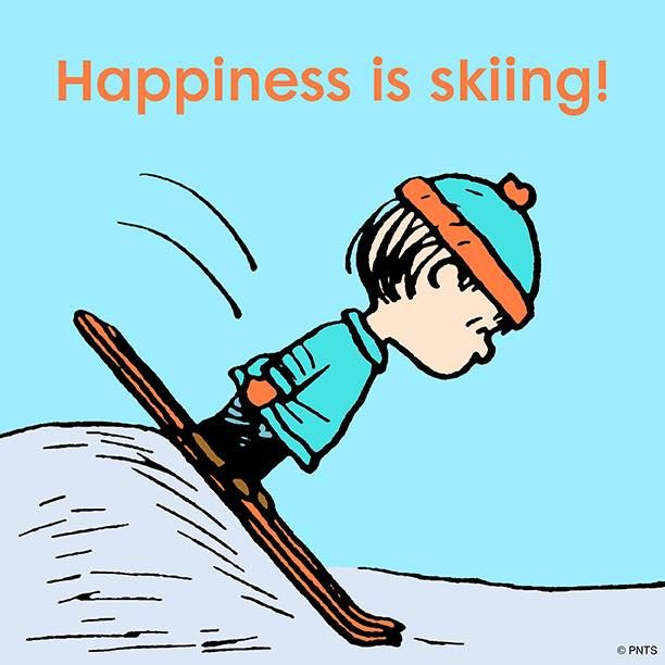 Snoopy clipart skiing Snoopy! 2319 is on images