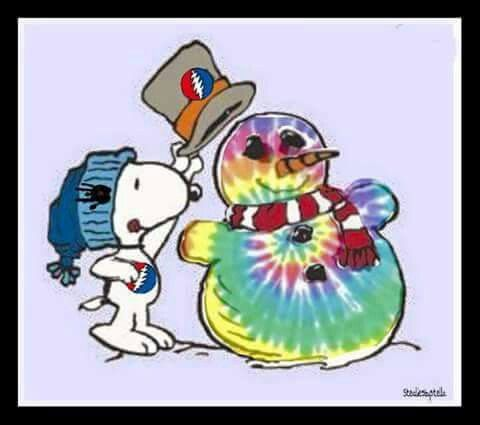 Snoopy clipart snowman Snoopy Christmas Snowman ☮ 204