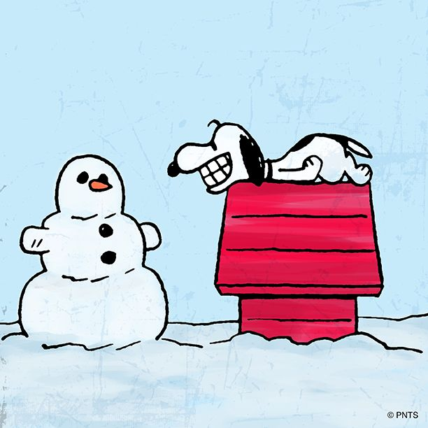Snoopy clipart snowman 37 more Weather and best