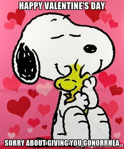 Snoopy clipart sorry Valentine snoopy sorry you