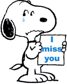 Snoopy clipart sorry