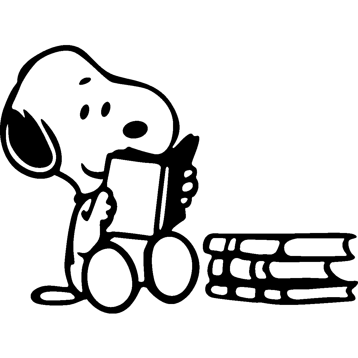 Snoopy clipart writing Books Pinterest Reading <3 Snoopy