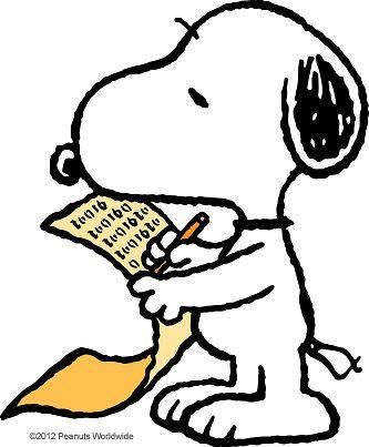 Snoopy clipart writing About best images 4141 on