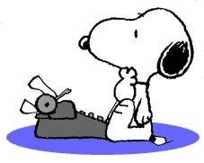 Snoopy clipart writing Of about first choice my