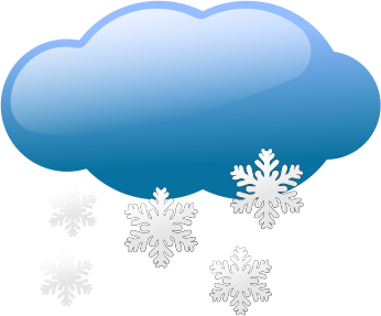 Moving clipart snow #11