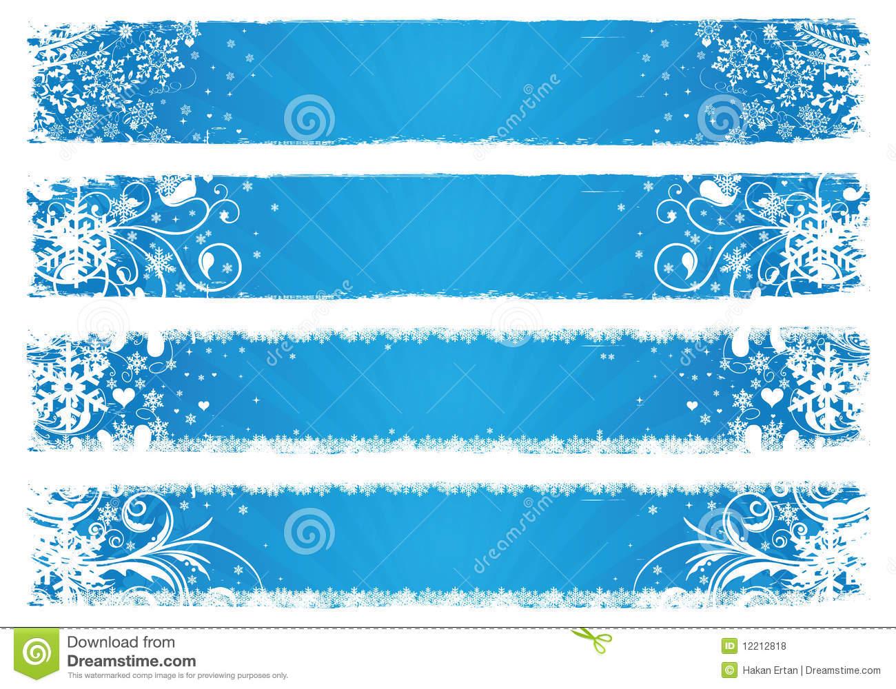 Winter clipart banner Banner Winter 101 Winter –