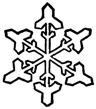 Snowfall clipart black and white #4