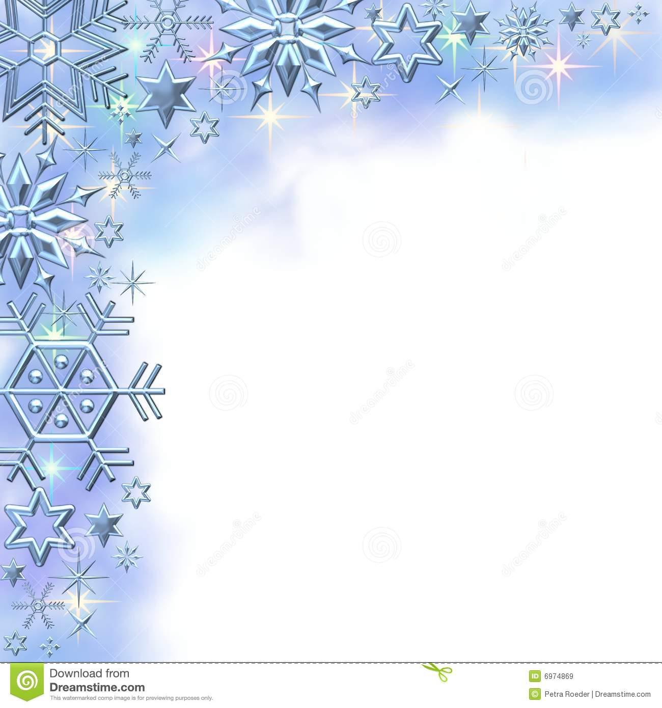 Winter clipart frame Clipart snowflake Snow Clipart Border