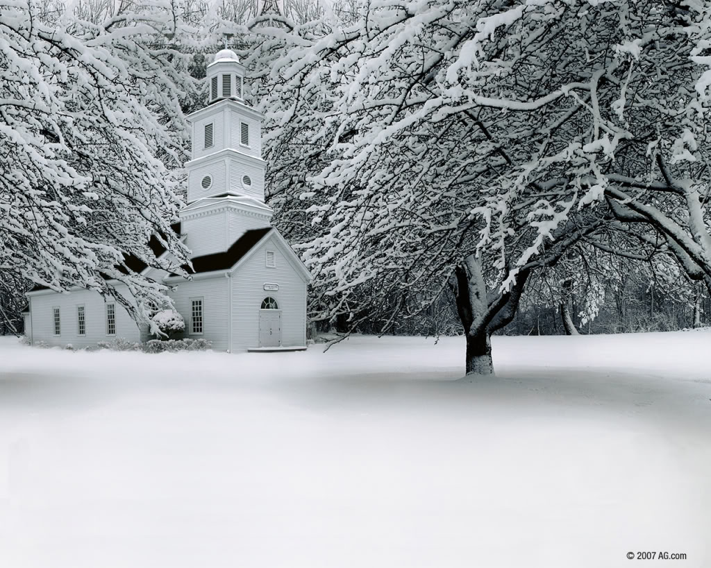 Winter clipart church scene Winter Church images about Wallpaper
