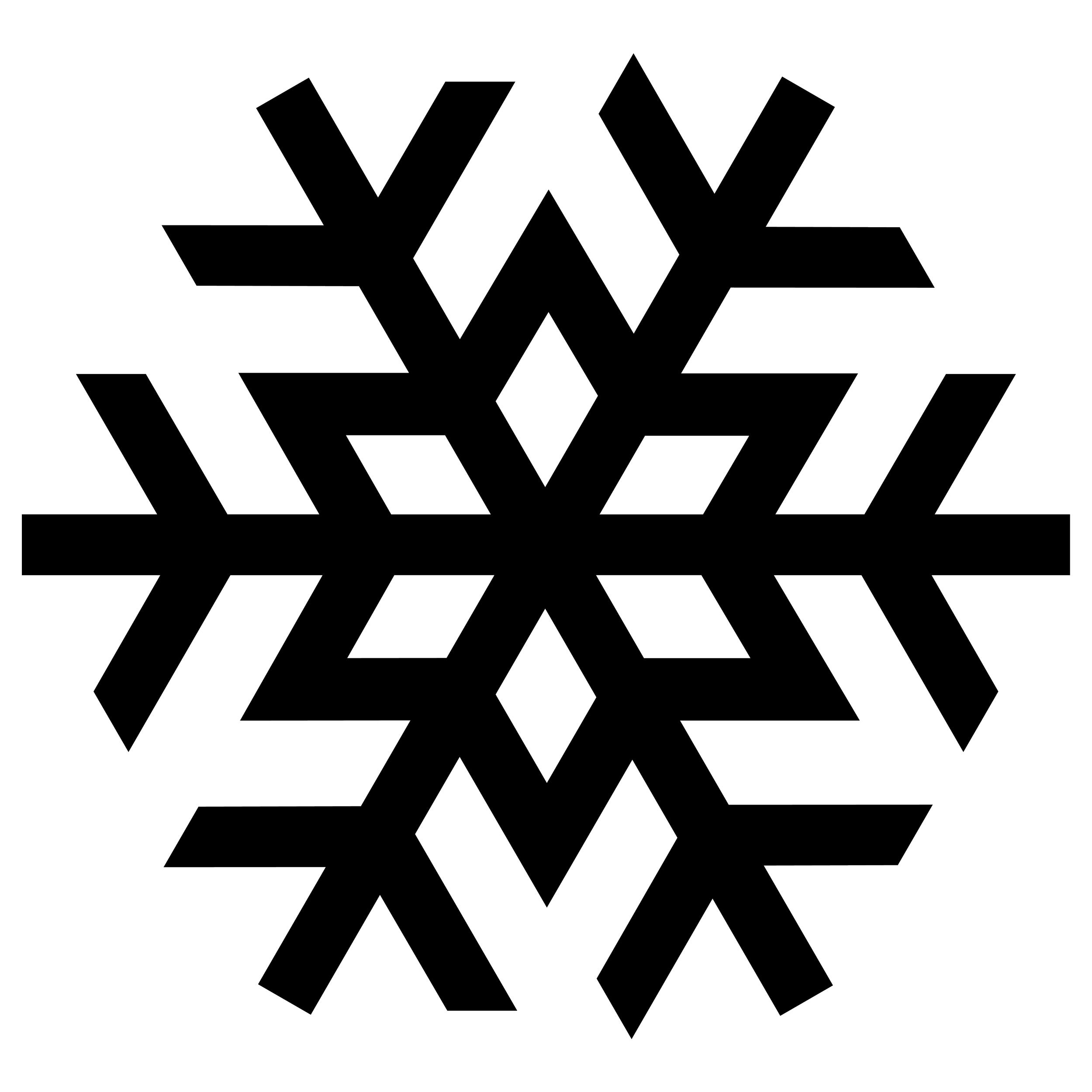 Snow clipart simple snowflake Snow silhouette snowflake silhouette Google