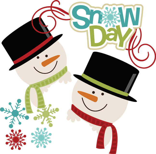 Snow clipart snow day  Day SVG Snow
