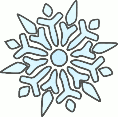 Winter clipart panda Clipart Free snowflake Black And