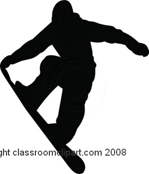 Snowboarding clipart Snowboarding Snowboarder Clipart Silhouette cliparts