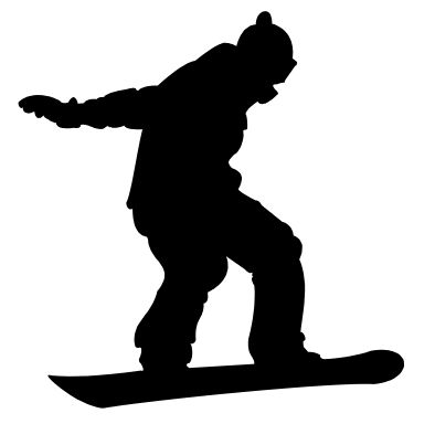 Snowboarding clipart downhill Best on and snowboarders of