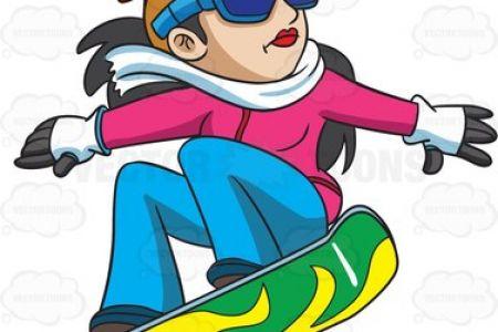 Snowboarding clipart microsoft Clipart 800 snowboarding  skiing