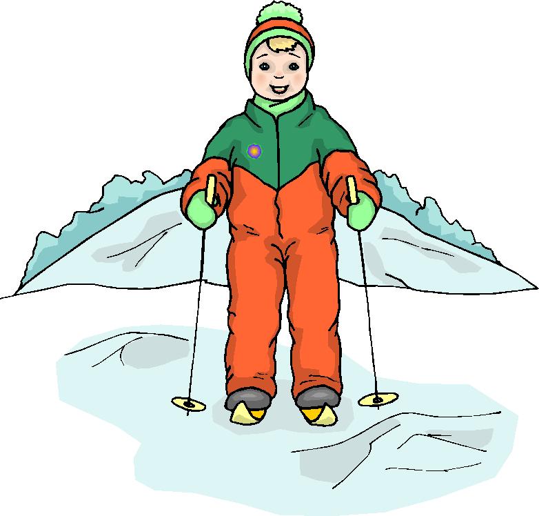 Skiing clipart snow skiing Clipart Snow Art Boy Art