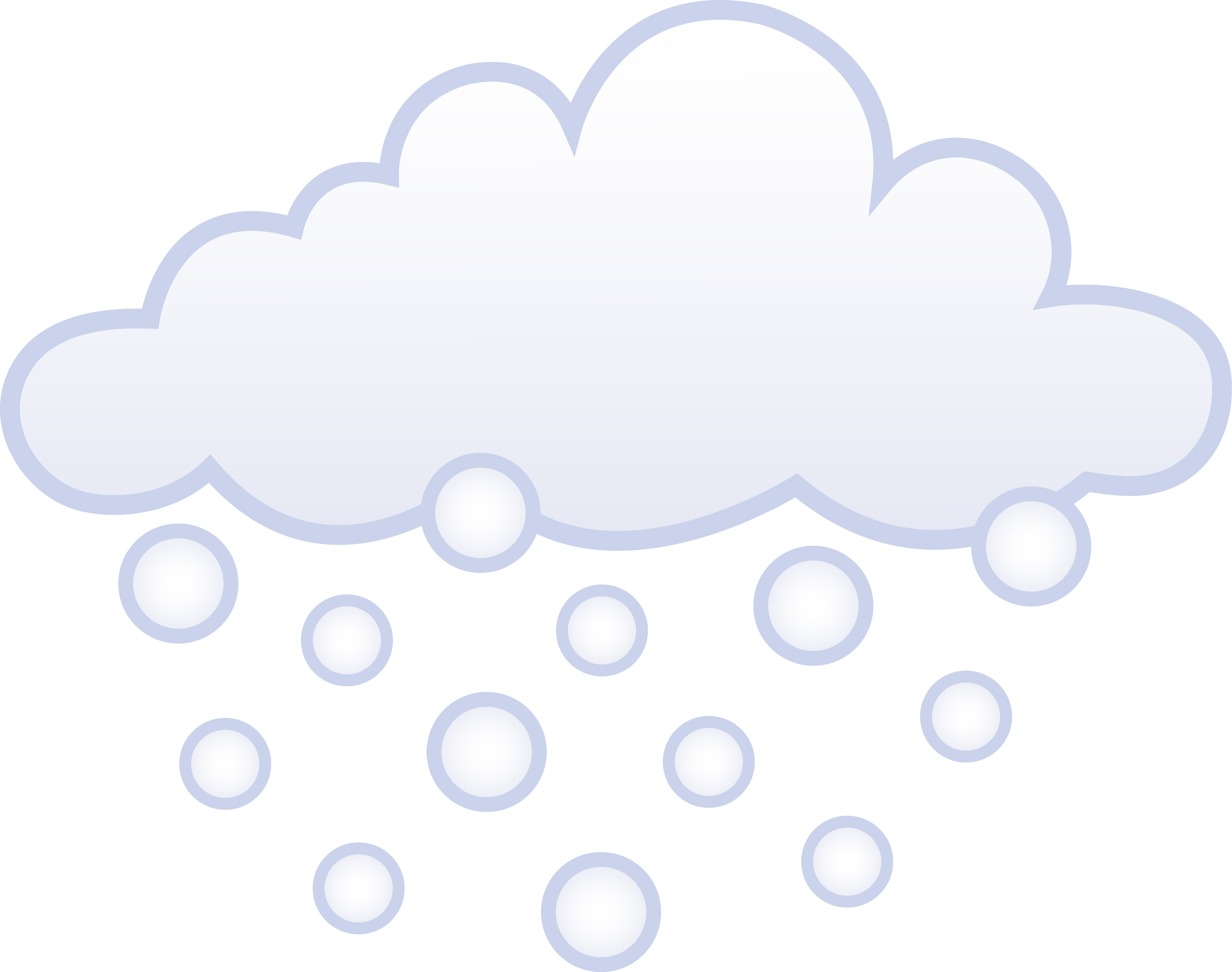 Cold clipart snowy weather Cloud White Cloud Snowing Snowing