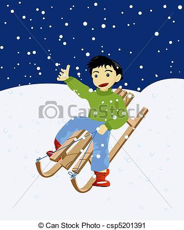 Snowfall clipart winter game #3