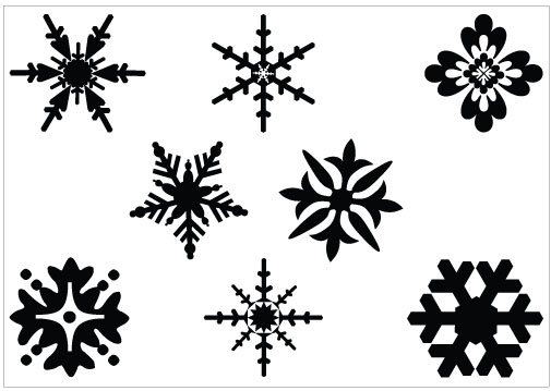 Amd clipart snowflake Clipart Snowflakes collection and clipart