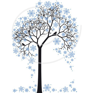 Winter clipart transparent background With Winter Polyvore clip digital