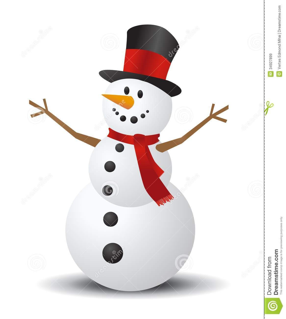 Snowman clipart basic Clipart Snowman 126 Snowman Clipart