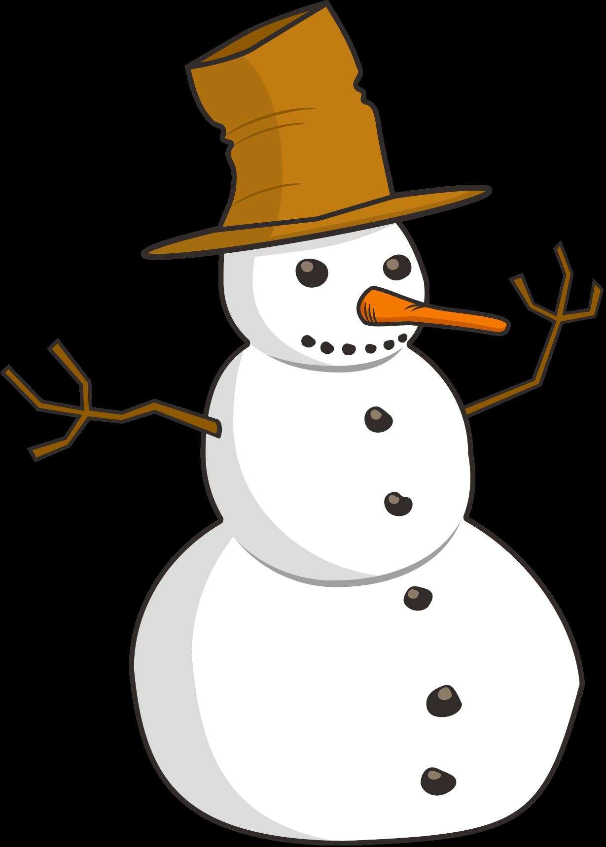 Snowman clipart basic Clipartix Snowman images art snowman