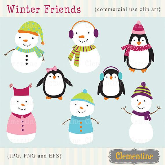 Snowman clipart basic Penguin royalty clip Snowman art