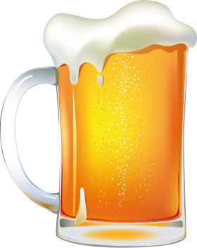 Snowman clipart beer PNG image Beer cliparts Food