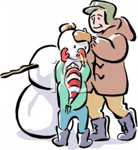 Snowman clipart building a Picture Clipart and Clipart a