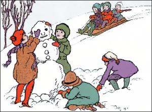Snowman clipart building a A Art Clip Snowman A