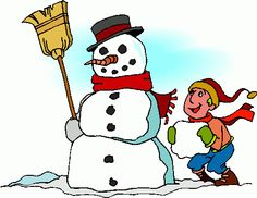 Snowman clipart building a Snowman making clipart clipart Clip
