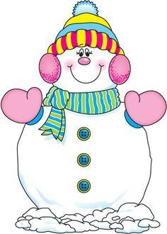 Snowman clipart carson dellosa *SNOWMAN Snowman pintura 40 ART
