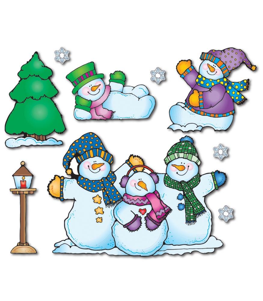 Snowman clipart carson dellosa Snow Publishing Carson Set Board