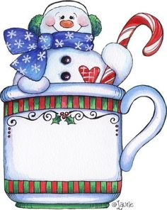 Snowman clipart christmas snowman & Patterns cup cheer Drawings