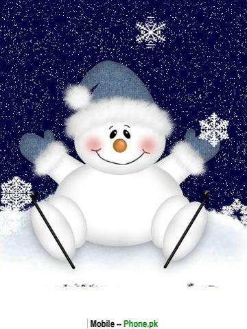 Snowman clipart christmas snowman On Pinterest Christmas cute_snowman_background_holiday_mobile_wallpaper only
