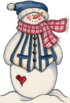 Snowman clipart christmas snowman Clipart  on Snowmen Art