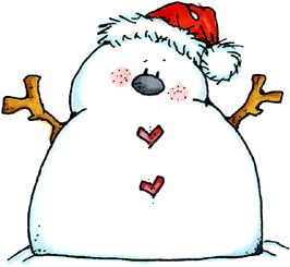 Snowman clipart chubby Clipart Pinterest 639 on more