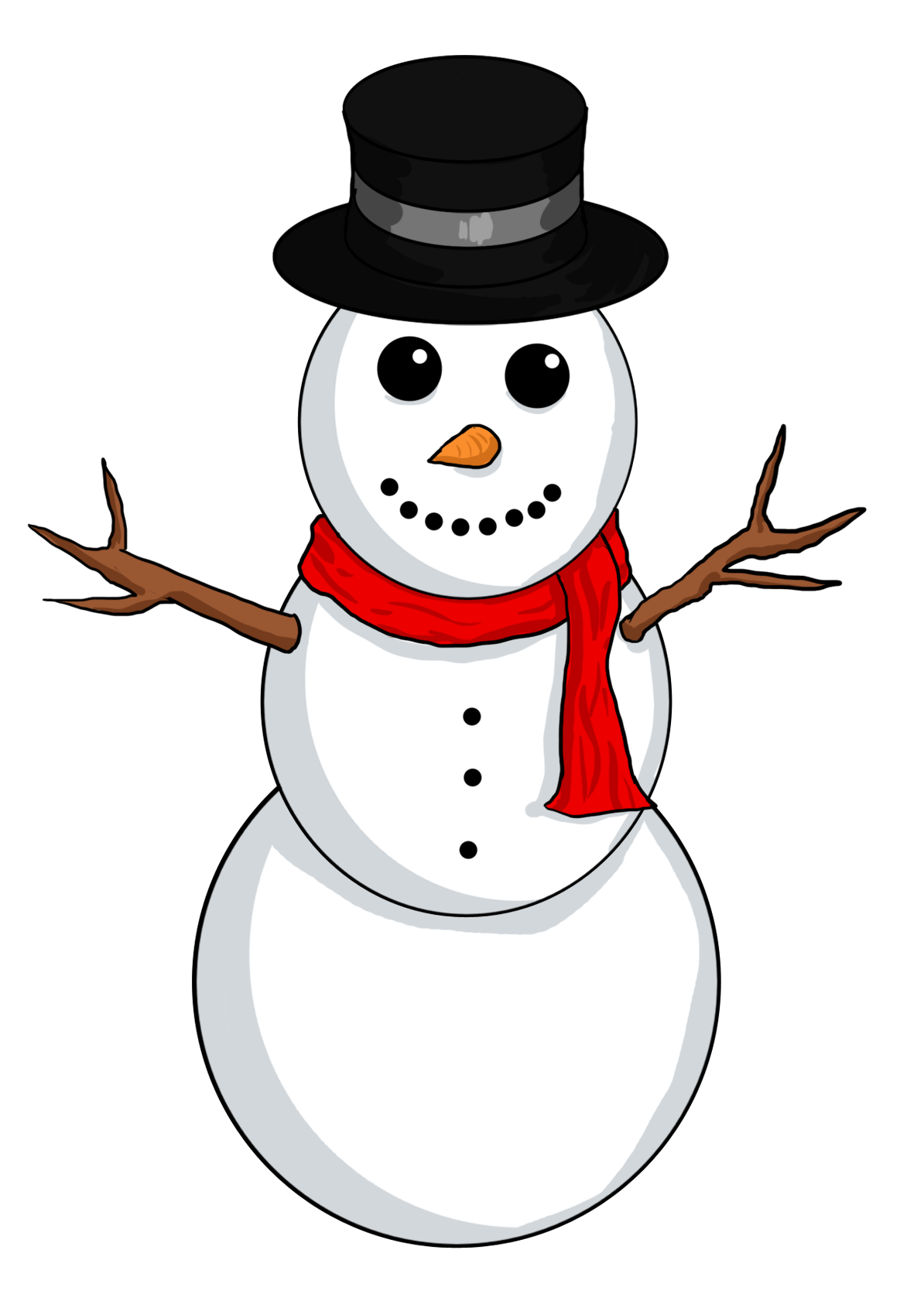 Hat clipart frosty the snowman Snowman Share clipart clipart Free