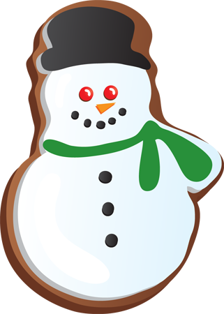 Christmas clipart sugar cookie Cookie Download Cookie Clipart Snowman