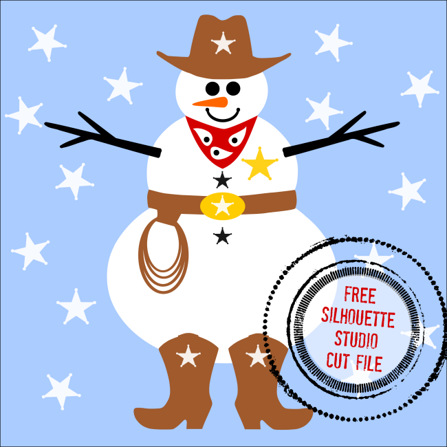 Snowman clipart cowboy And Design! for be Design