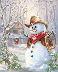 Snowman clipart cowboy Snowman Cowboy 13+ Cliparts Clipart