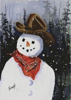 Snowman clipart cowboy Download Category 240x320 cowboy Phone