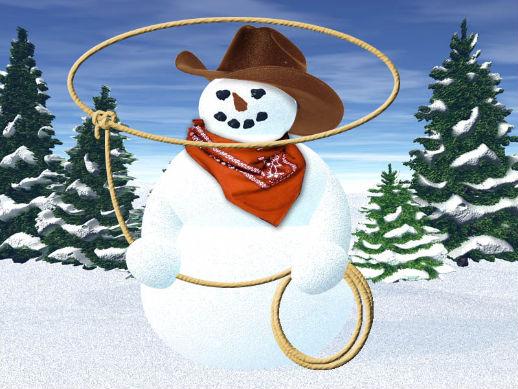 Snowman clipart cowboy Clipart Snowman Cowboy Zone Cowboy