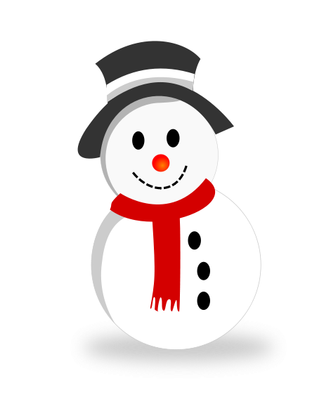 Adorable clipart christmas snowman Snowman Cute art 6 clipart