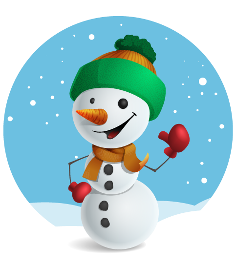 Snowman clipart cute Art Free Snowman Use Domain