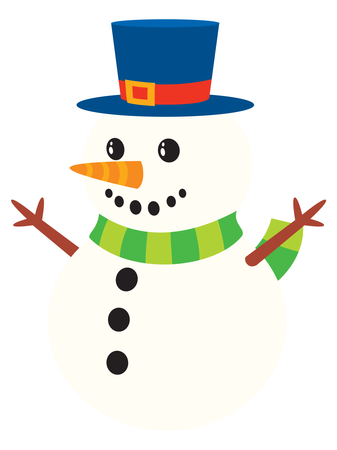 Snowman clipart cute 10 Snowman to Snowman art