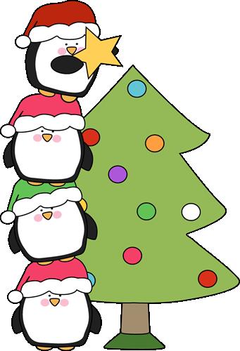 Sanya clipart penguin Images Penguins Christmas a Putting