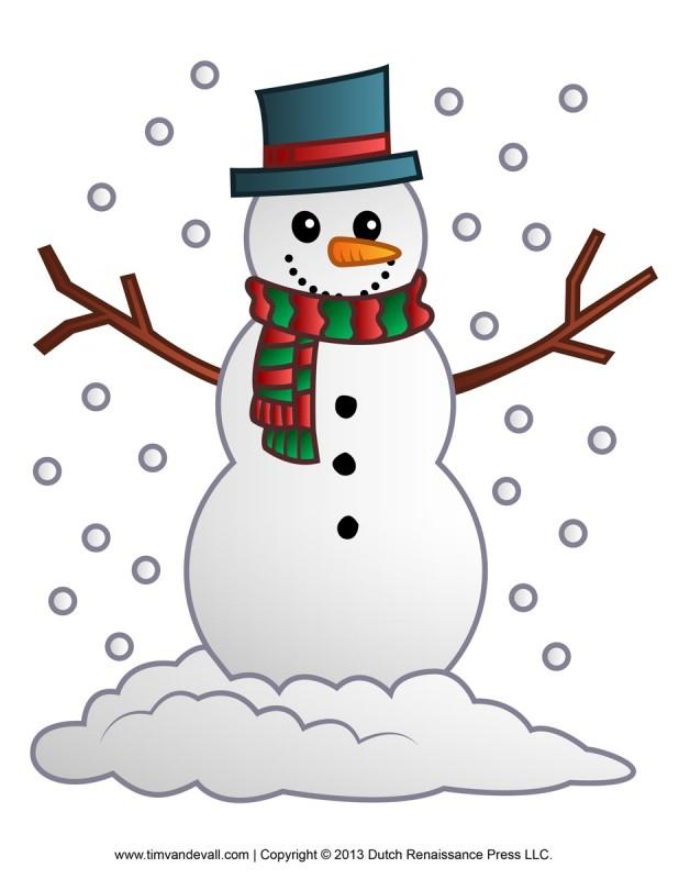 Snowman clipart december Discovery charter 59 December school